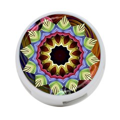 Love Energy Mandala 4 Port Usb Hub (one Side)