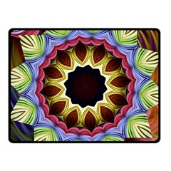 Love Energy Mandala Fleece Blanket (small)