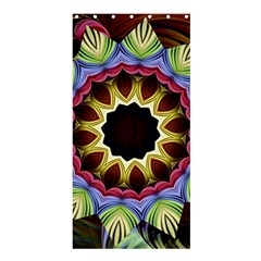 Love Energy Mandala Shower Curtain 36  X 72  (stall)