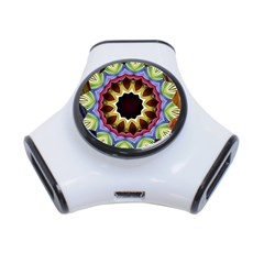Love Energy Mandala 3 Port Usb Hub