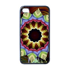 Love Energy Mandala Apple Iphone 4 Case (black)