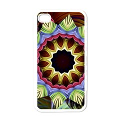 Love Energy Mandala Apple Iphone 4 Case (white)