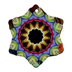 Love Energy Mandala Ornament (snowflake)