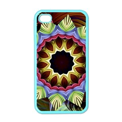 Love Energy Mandala Apple Iphone 4 Case (color) by designworld65