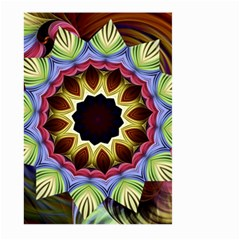 Love Energy Mandala Large Garden Flag (two Sides) by designworld65