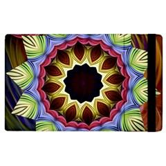 Love Energy Mandala Apple Ipad 2 Flip Case by designworld65