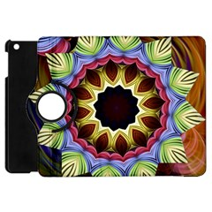 Love Energy Mandala Apple Ipad Mini Flip 360 Case by designworld65