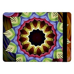 Love Energy Mandala Samsung Galaxy Tab Pro 12 2  Flip Case by designworld65