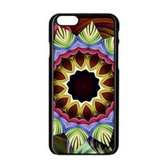 Love Energy Mandala Apple Iphone 6/6s Black Enamel Case by designworld65