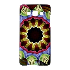 Love Energy Mandala Samsung Galaxy A5 Hardshell Case  by designworld65