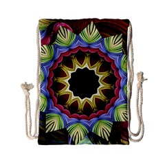 Love Energy Mandala Drawstring Bag (small)