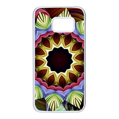 Love Energy Mandala Samsung Galaxy S7 White Seamless Case