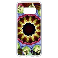 Love Energy Mandala Samsung Galaxy S8 White Seamless Case