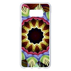 Love Energy Mandala Samsung Galaxy S8 Plus White Seamless Case