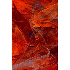 Swirly Love In Deep Red 5 5  X 8 5  Notebooks