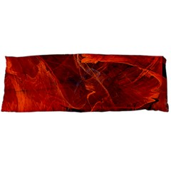 Swirly Love In Deep Red Body Pillow Case Dakimakura (two Sides)