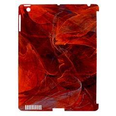 Swirly Love In Deep Red Apple Ipad 3/4 Hardshell Case (compatible With Smart Cover) by designworld65