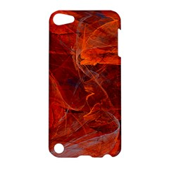 Swirly Love In Deep Red Apple Ipod Touch 5 Hardshell Case