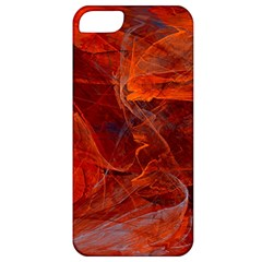 Swirly Love In Deep Red Apple Iphone 5 Classic Hardshell Case