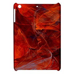 Swirly Love In Deep Red Apple Ipad Mini Hardshell Case