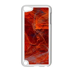 Swirly Love In Deep Red Apple Ipod Touch 5 Case (white)