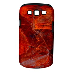 Swirly Love In Deep Red Samsung Galaxy S Iii Classic Hardshell Case (pc+silicone) by designworld65