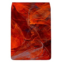 Swirly Love In Deep Red Flap Covers (l)  by designworld65