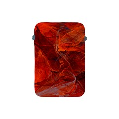 Swirly Love In Deep Red Apple Ipad Mini Protective Soft Cases