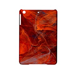 Swirly Love In Deep Red Ipad Mini 2 Hardshell Cases