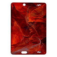 Swirly Love In Deep Red Amazon Kindle Fire Hd (2013) Hardshell Case