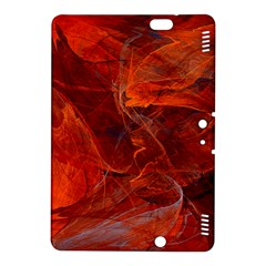 Swirly Love In Deep Red Kindle Fire Hdx 8 9  Hardshell Case by designworld65