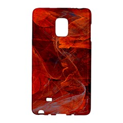 Swirly Love In Deep Red Galaxy Note Edge by designworld65