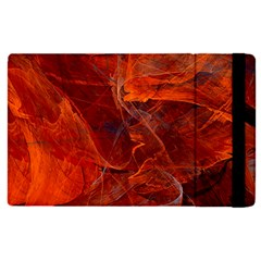 Swirly Love In Deep Red Apple Ipad Pro 12 9   Flip Case by designworld65