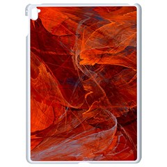 Swirly Love In Deep Red Apple Ipad Pro 9 7   White Seamless Case by designworld65