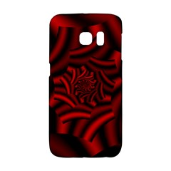 Metallic Red Rose Galaxy S6 Edge