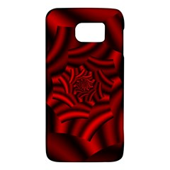 Metallic Red Rose Galaxy S6