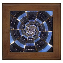 Midnight Crazy Dart Framed Tiles by designworld65