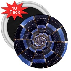 Midnight Crazy Dart 3  Magnets (10 Pack)  by designworld65