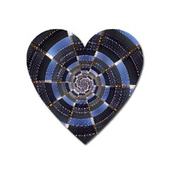 Midnight Crazy Dart Heart Magnet by designworld65