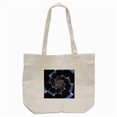 Midnight Crazy Dart Tote Bag (cream)