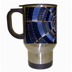 Midnight Crazy Dart Travel Mugs (white) by designworld65