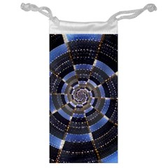 Midnight Crazy Dart Jewelry Bag by designworld65