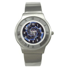 Midnight Crazy Dart Stainless Steel Watch by designworld65