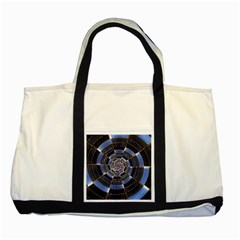 Midnight Crazy Dart Two Tone Tote Bag by designworld65