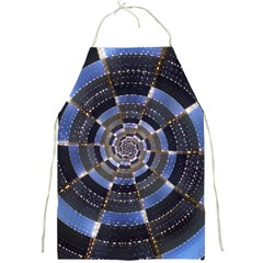 Midnight Crazy Dart Full Print Aprons by designworld65