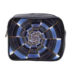 Midnight Crazy Dart Mini Toiletries Bag 2 Side by designworld65