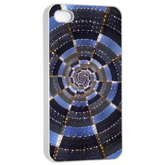 Midnight Crazy Dart Apple Iphone 4/4s Seamless Case (white) by designworld65