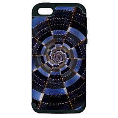 Midnight Crazy Dart Apple Iphone 5 Hardshell Case (pc+silicone) by designworld65