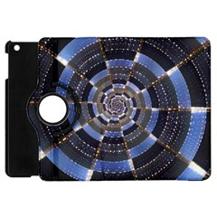 Midnight Crazy Dart Apple Ipad Mini Flip 360 Case by designworld65