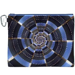 Midnight Crazy Dart Canvas Cosmetic Bag (xxxl) by designworld65
